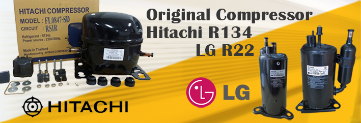 LG & Hitachi Compressor