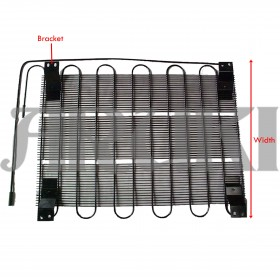 R1643-Series Condenser (with bracket)