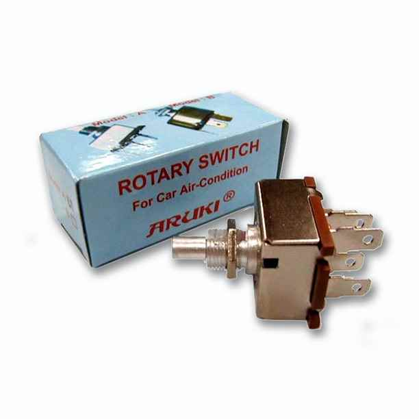 Selector Switch for Vehicle Air Conditioner