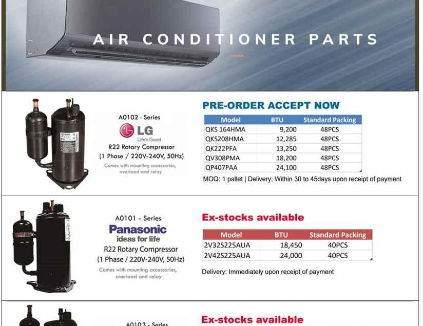Promotion Catalog | ASPT (Singapore) PTE LTD | ARUKI COMPONENTS